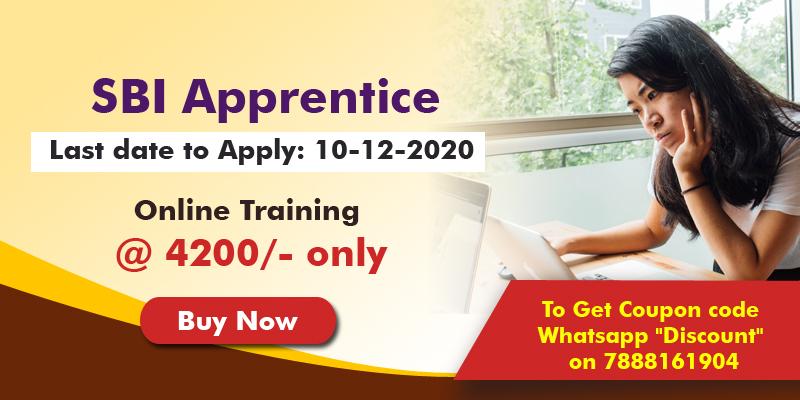 SBI Apprentice-2020